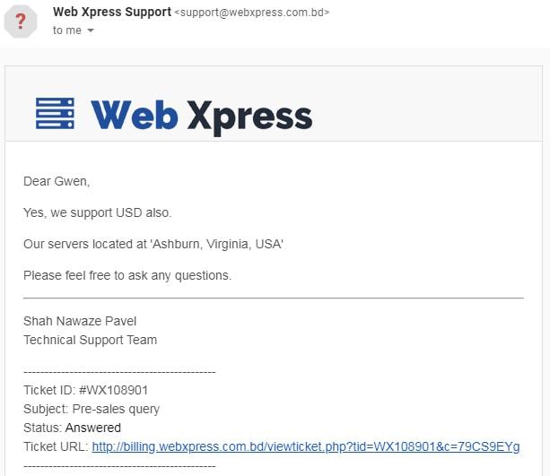 Web Xpress