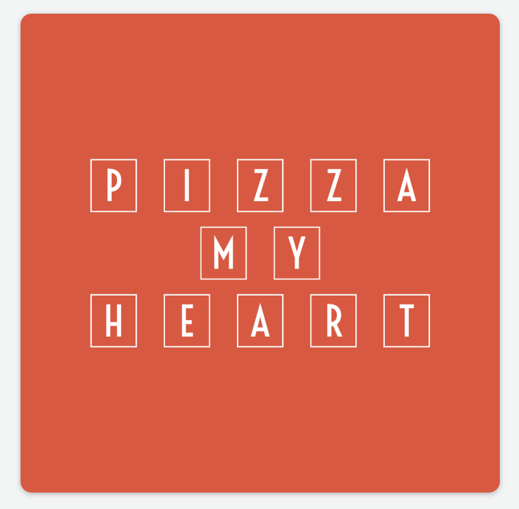 Sample logo made with Adobe Spark - Pizza Heart