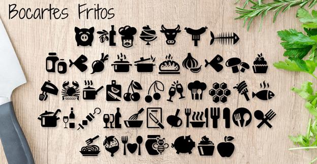 Free font - Bocartes Fritos