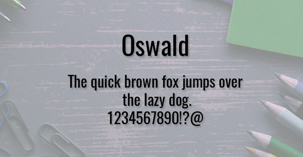 Free front - Oswald