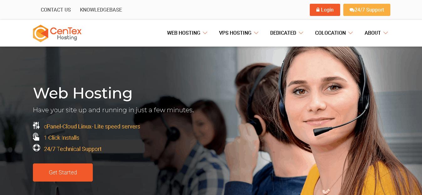 centex hosting main