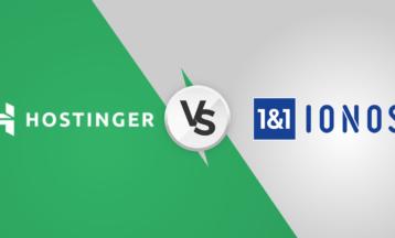 Hostinger vs 1&1 IONOS – ¿Cuál es mejor en 2021?