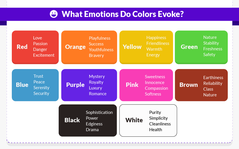 What Emotions Do Colors Evoke?