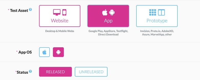 Userlytics user testing and feedback tool