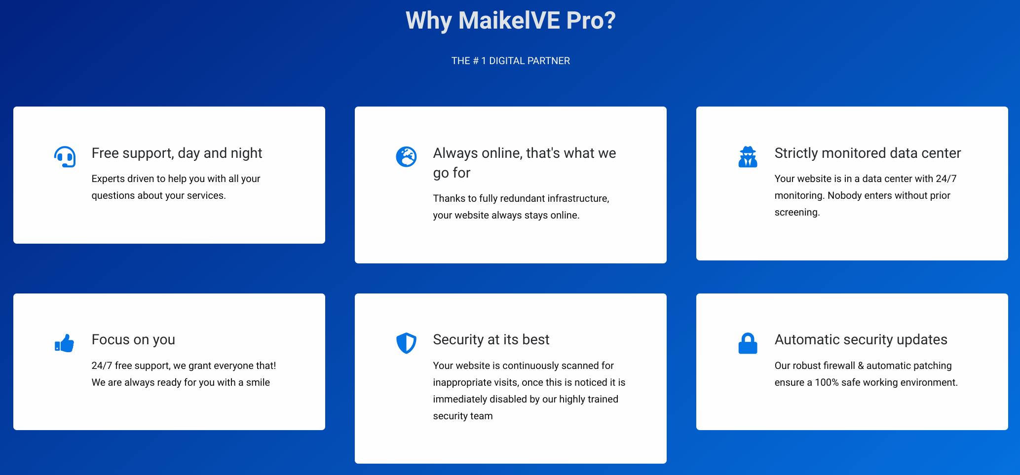 maikelve features