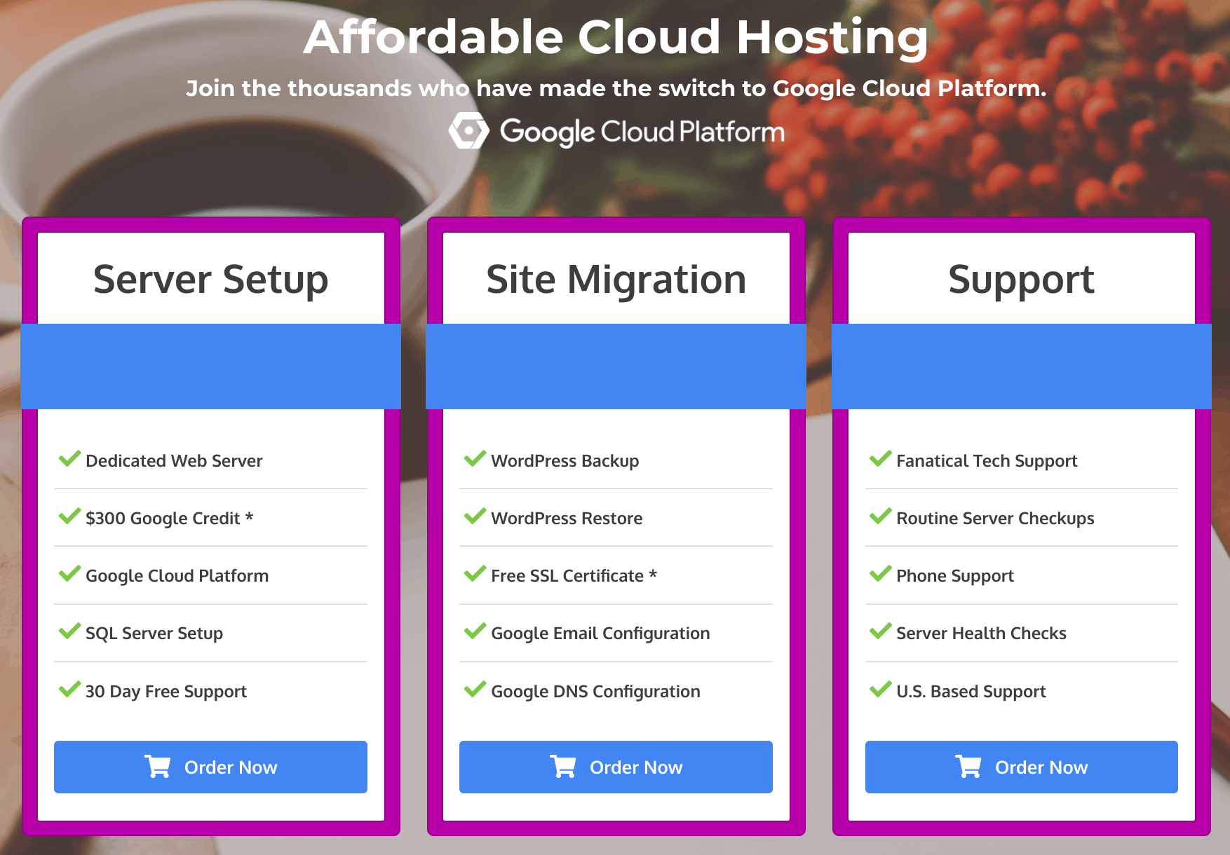CloudHostingSetup