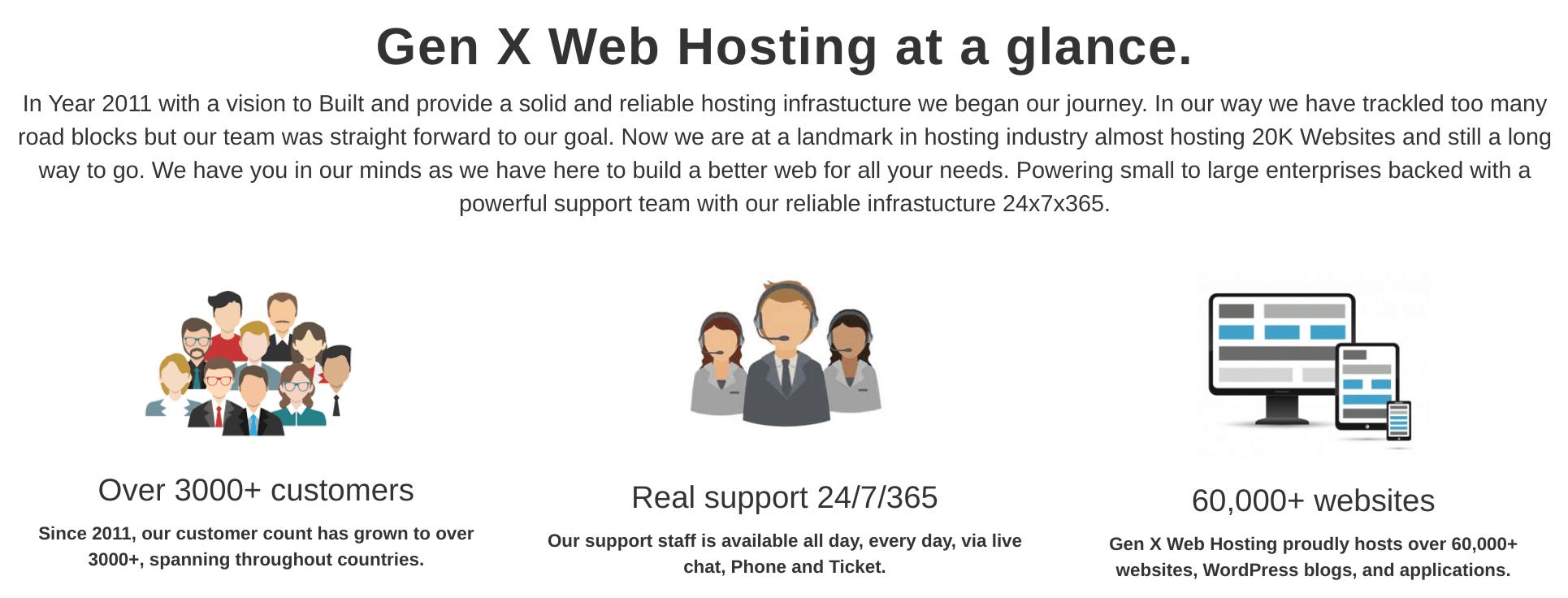 Gen X Web Hosting