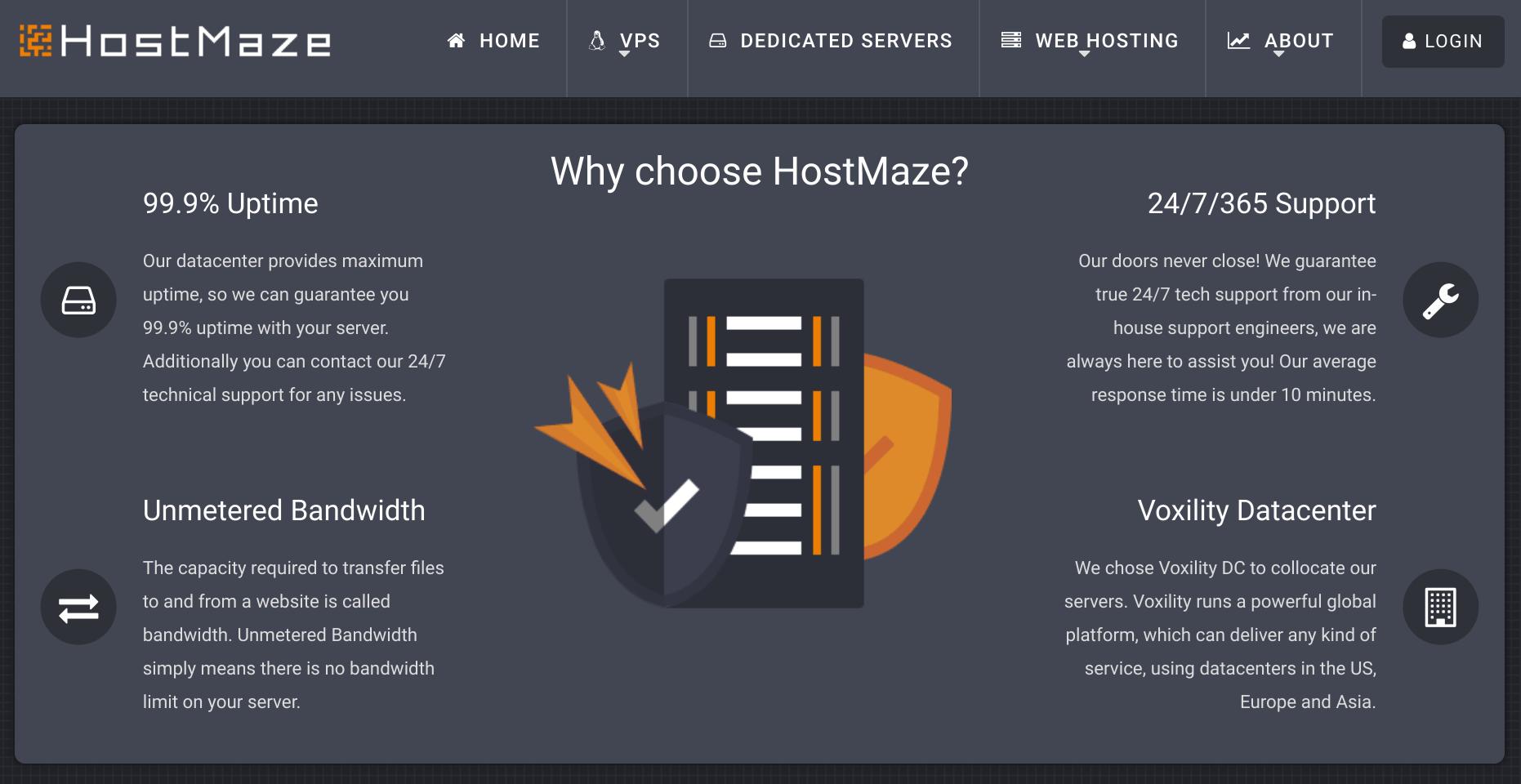 HostMaze