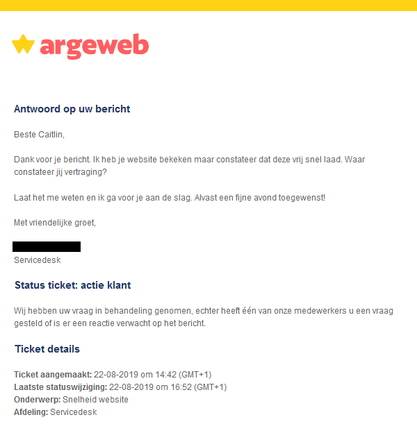 Website Optimaliseren Hosting Argeweb