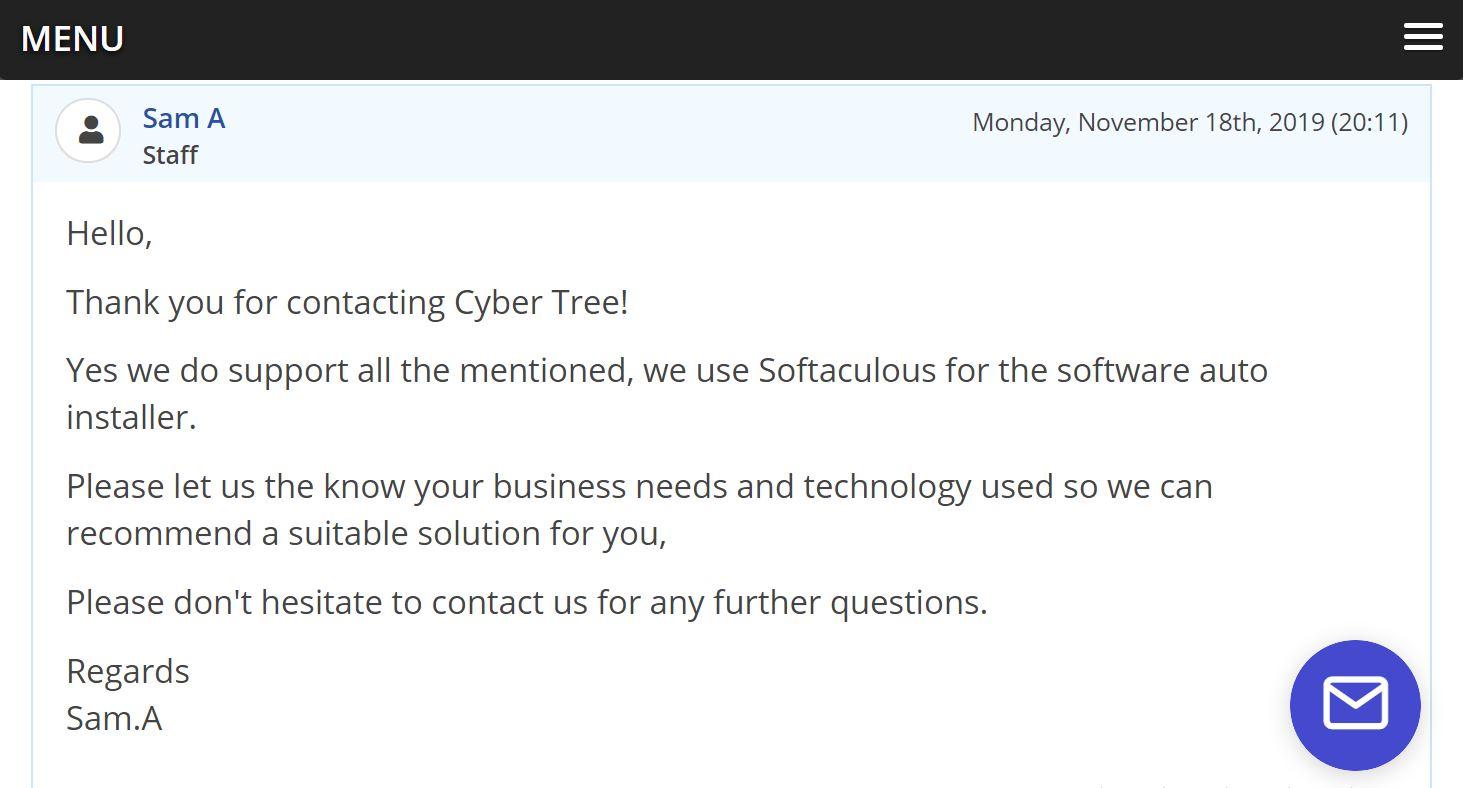 Cyber Tree