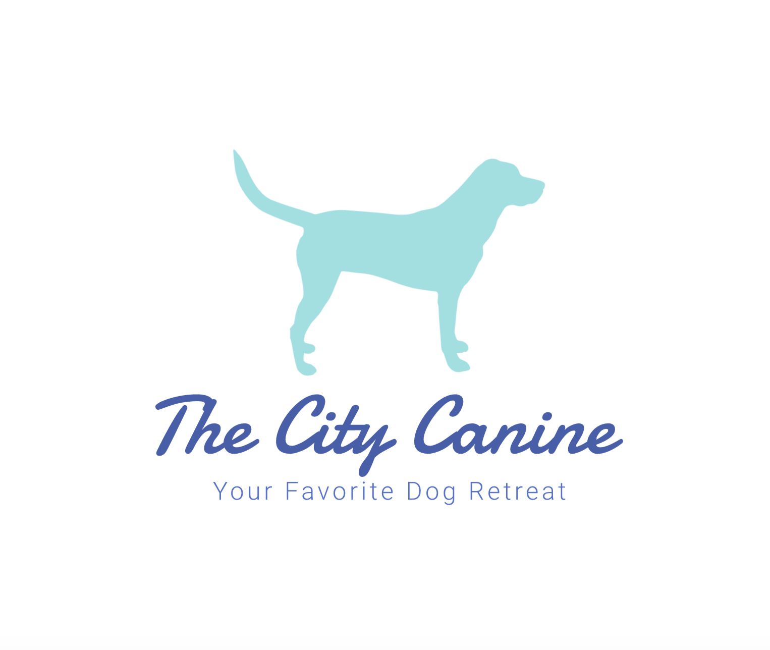 Logo made with Wix Logo Maker - The City Canine
