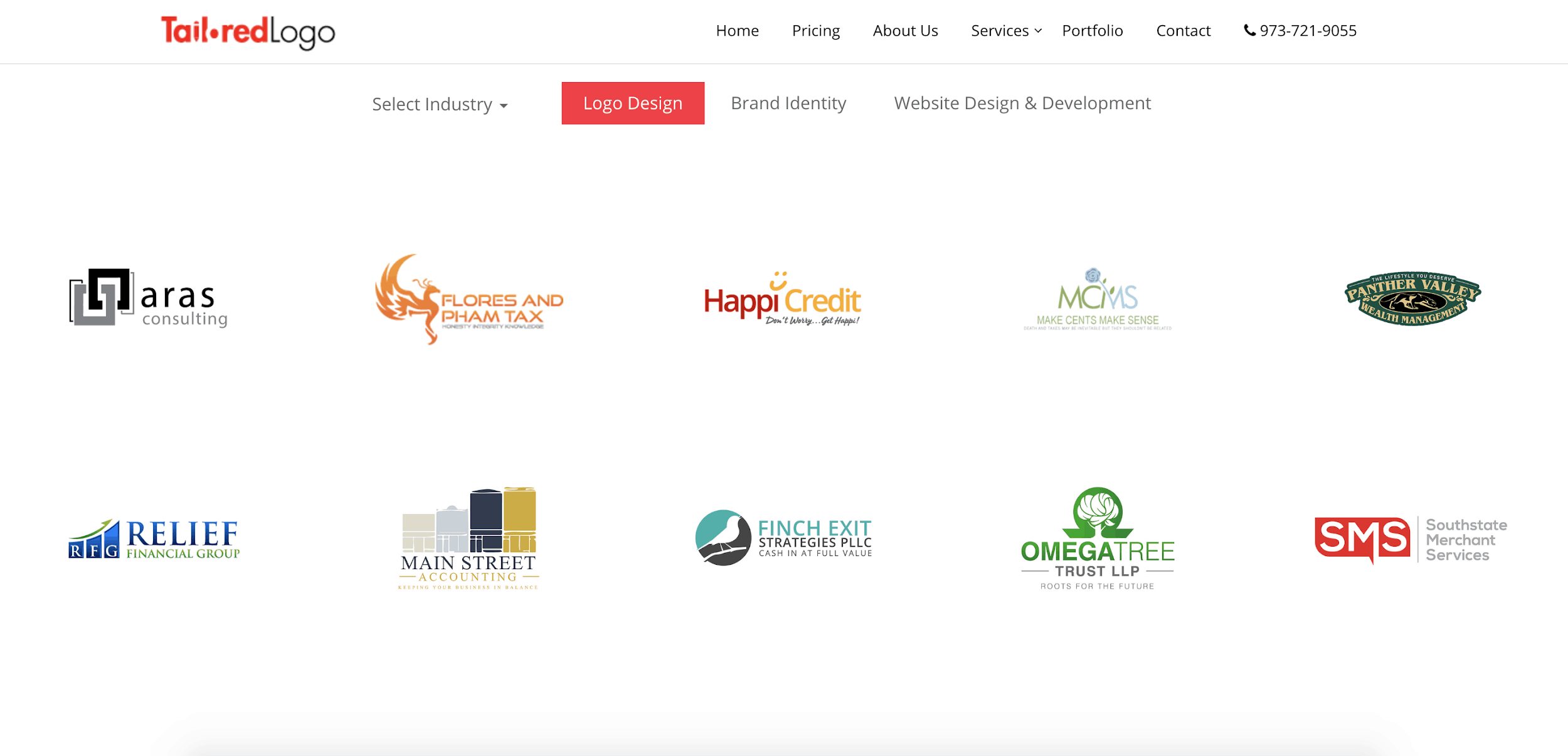 Tailored Logo screenshot - Logo portfolio
