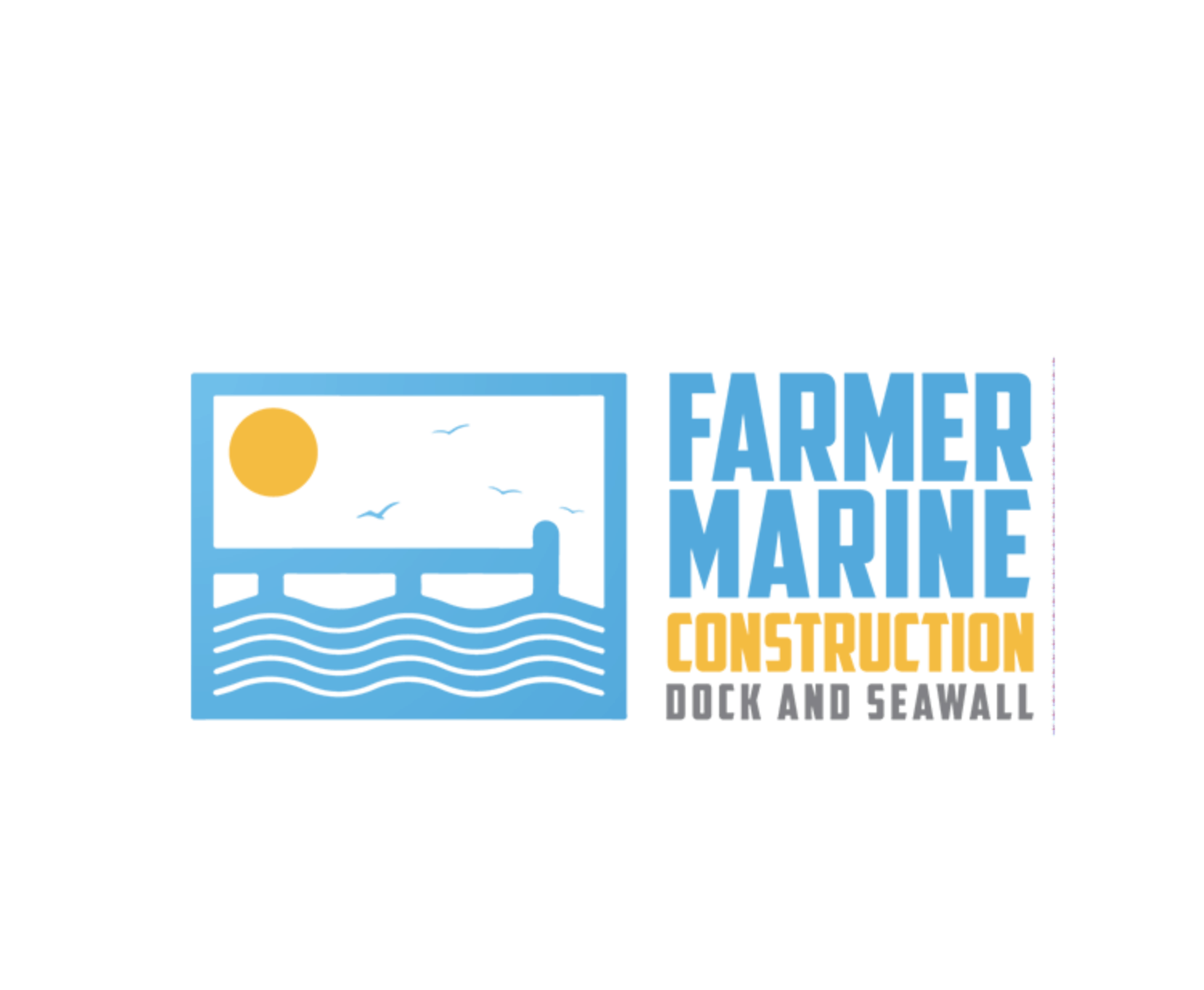 Logo by Tailored Logo - Farmer Marine Construction