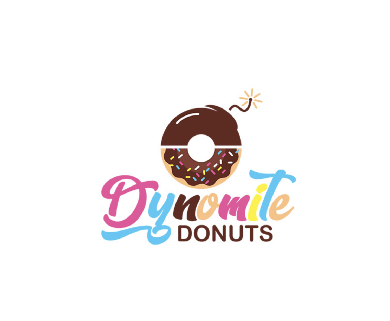 Logo by Tailored Logo - Dynomite Donuts
