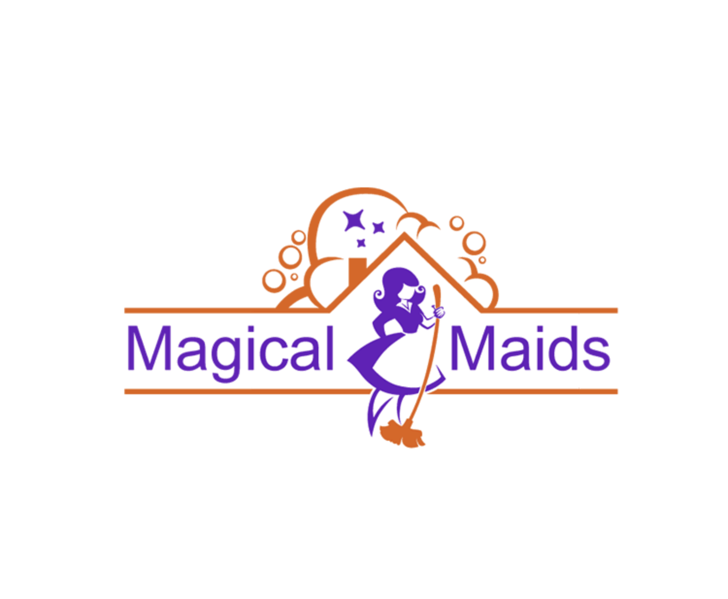 Logo by Tailored Logo - Magical Maids