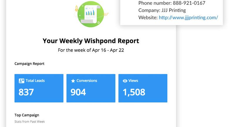 wishpond-weekly-report