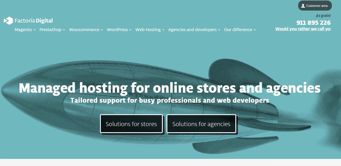 Factoria Digital Main Page