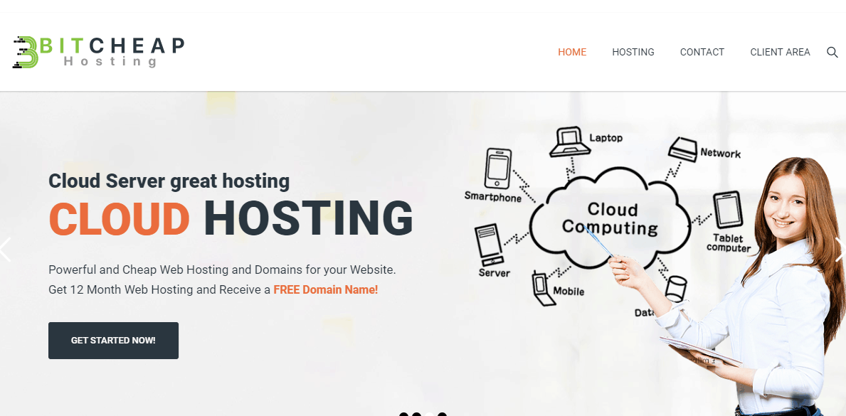 BITCHEAP HOSTING Main Page