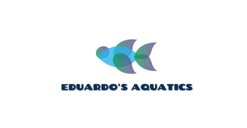 Animal Logo created with DesignEvo - Eduardo's Aquatics