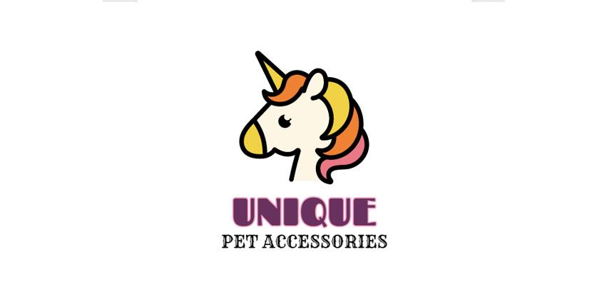 Animal Logo created with DesignEvo - Unique Pet Accessories