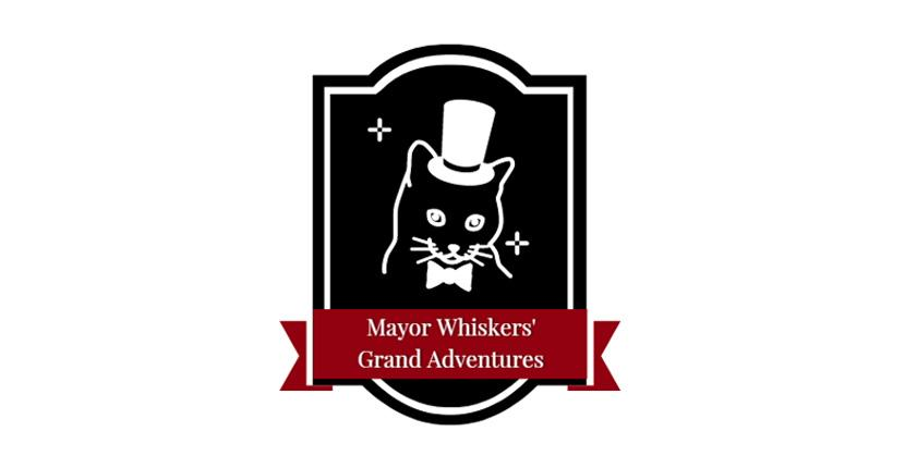 Animal Logo created with DesignEvo - Mayor Whiskers' Grand Adventures