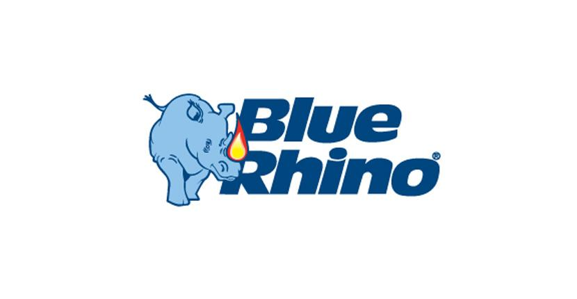 Animal logo - Blue Rhino