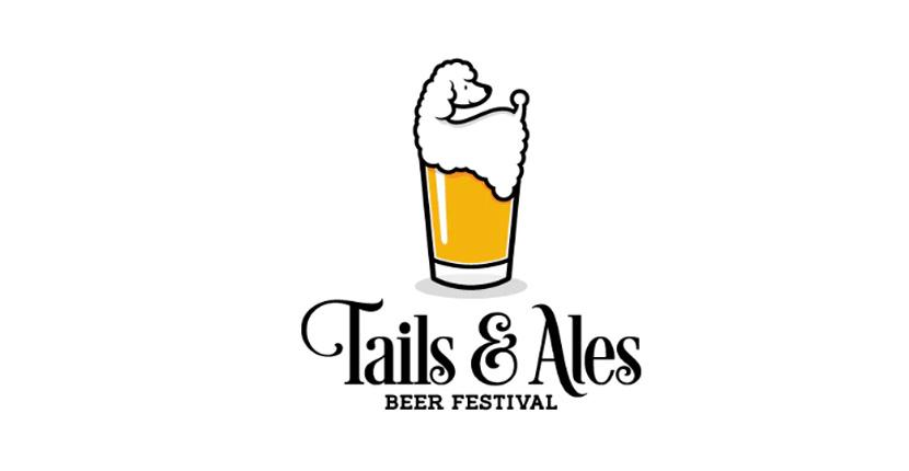Animal logo - Tails & Ales