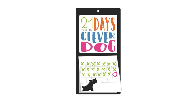 Animal logo - 21 Days to a Clever Dog