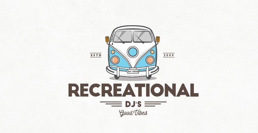 DJ logo - Recreational DJs