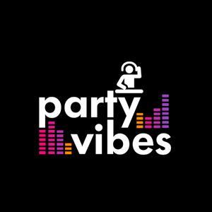 DJ logo - Party Vibes