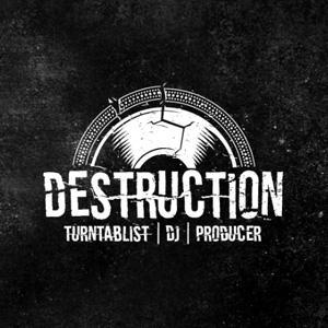 DJ logo - Destruction