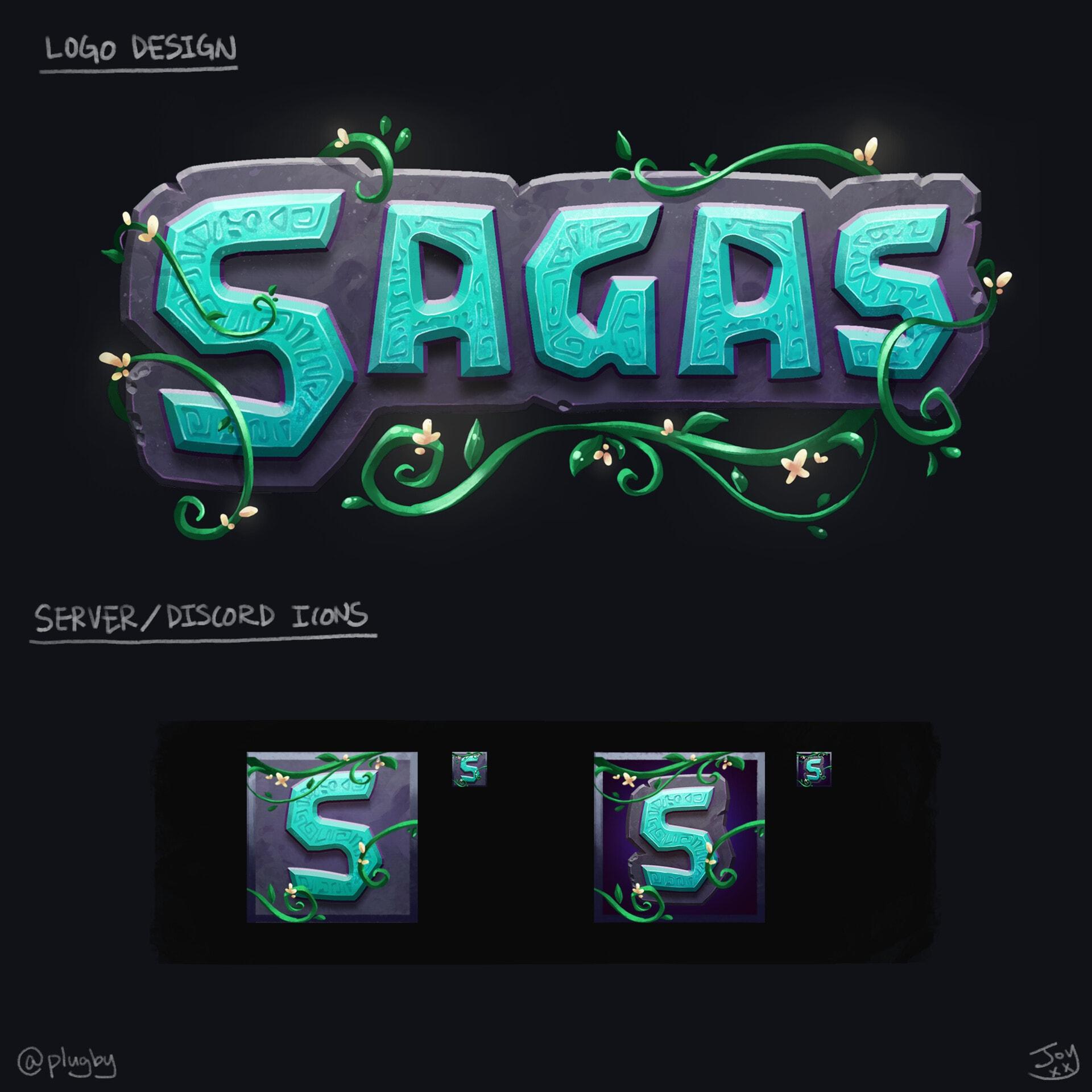 Discord logo - Sagas