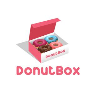 Food logo - Donut Box