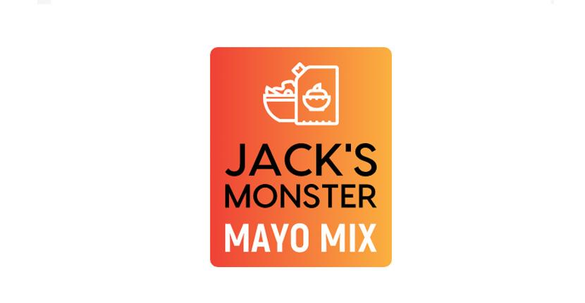 Food logo created with Looka - Jack's Monster Mayo Mix