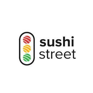 Food logo - Sushi Street