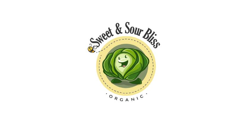 Food logo - Sweet & Sour Bliss