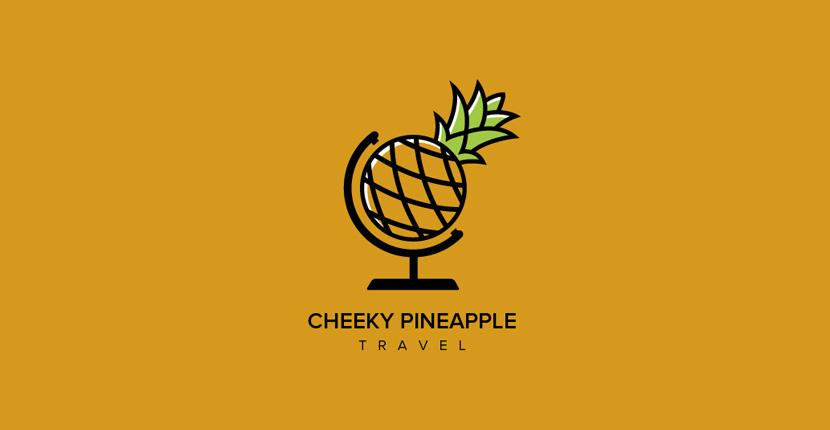 Food logo - Cheeky Pineapple Travel