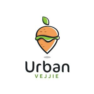 Food logo - Urban Vejjie