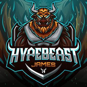 Fortnite logo - Hyperbeast James
