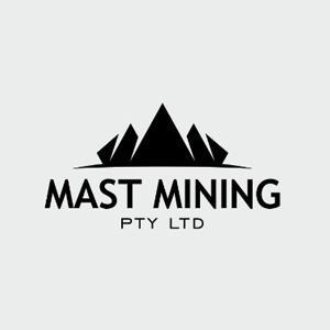 Geometric logo - Mast Mining