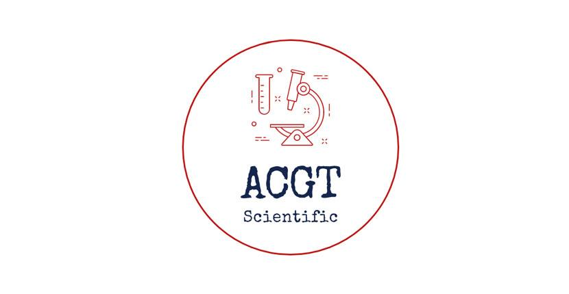 Geometric logo created with Wix Logo Maker - ACGT Scientific