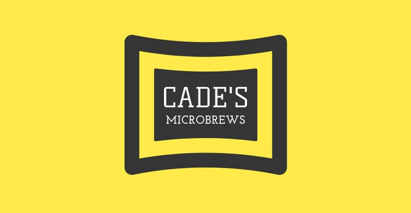 Geometric logo created with Wix Logo Maker - Cade's Microbrews