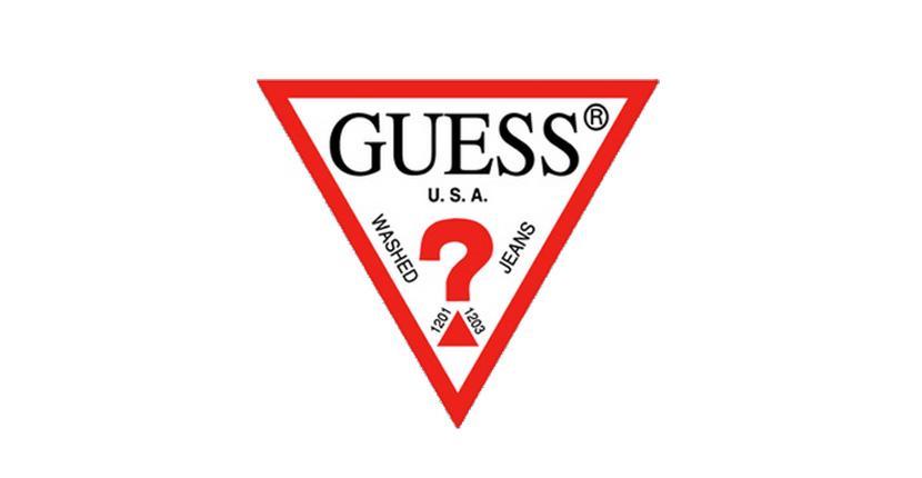 Geometric logo - Guess