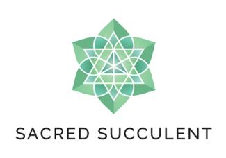 Geometric logo - Sacred Succulent