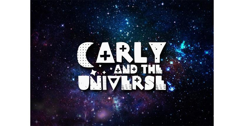 Geometric logo - Carly and the Universe