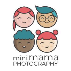 Geometric logo - MiniMama Photography