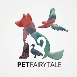 Geometric logo - PetFairyTale