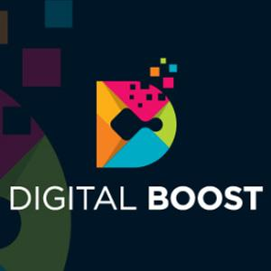 Geometric logo - Digital Boost