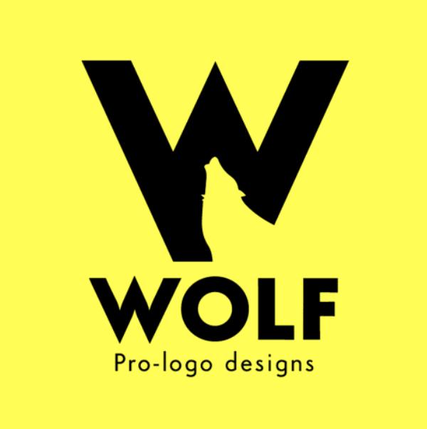 Letter logo - W - Wolf