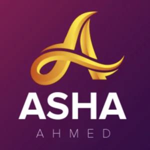 Letter logo by Fiverr designer - A - Asha